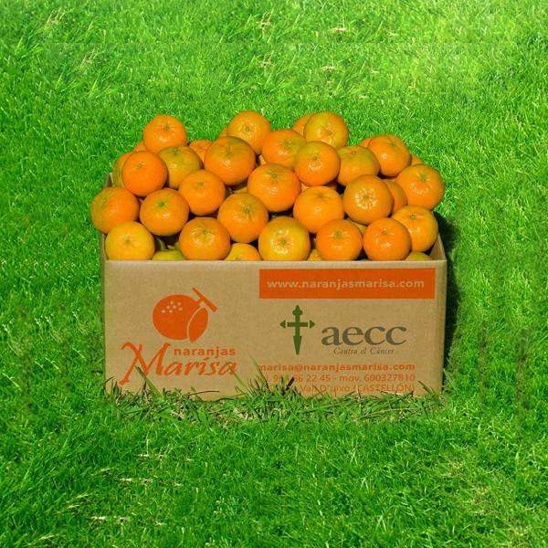 Caja mandarinas 15 kg. Agotado