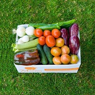 Caja de verduras 5kg.