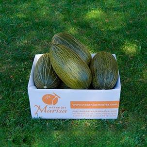 Caja 10kg-15kg. aprox. de melones
