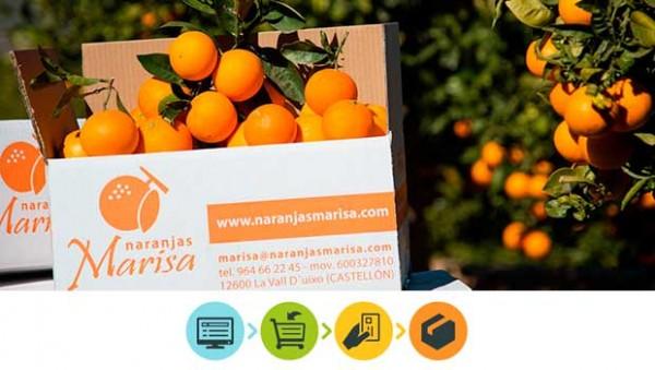Comprar naranjas de valencia. Nuestra Tienda Online