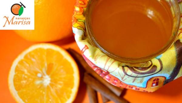 Naranja, miel y canela