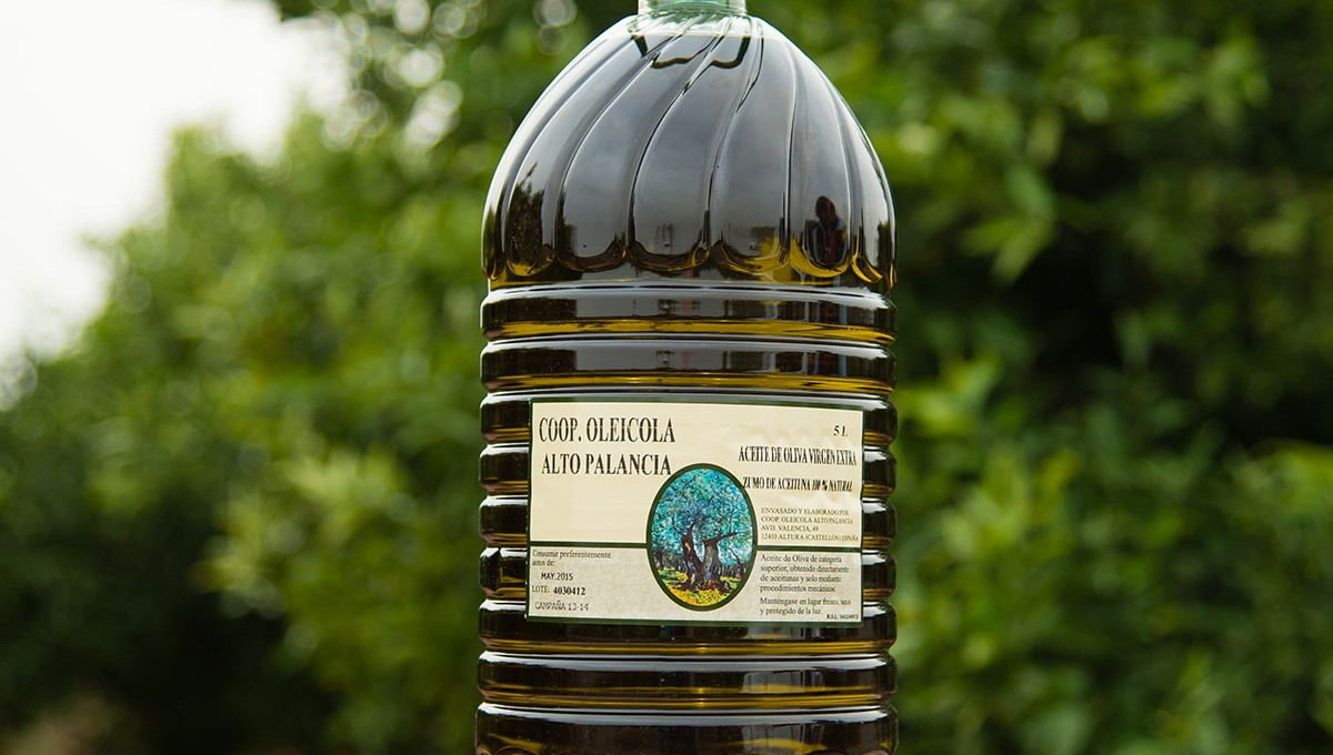 Aceite oliva virgen extra - 1 garrafa de 5 litros