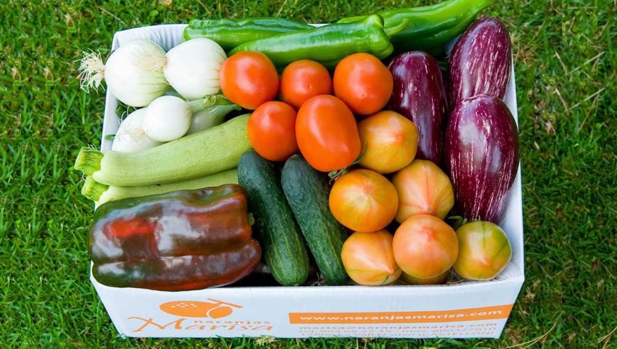 Caja de verduras 10kg. AGOTADO