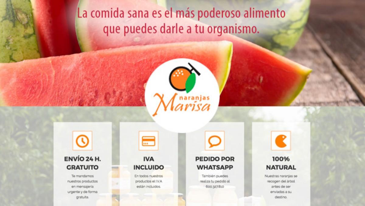 La compra Online en Naranjas Marisa