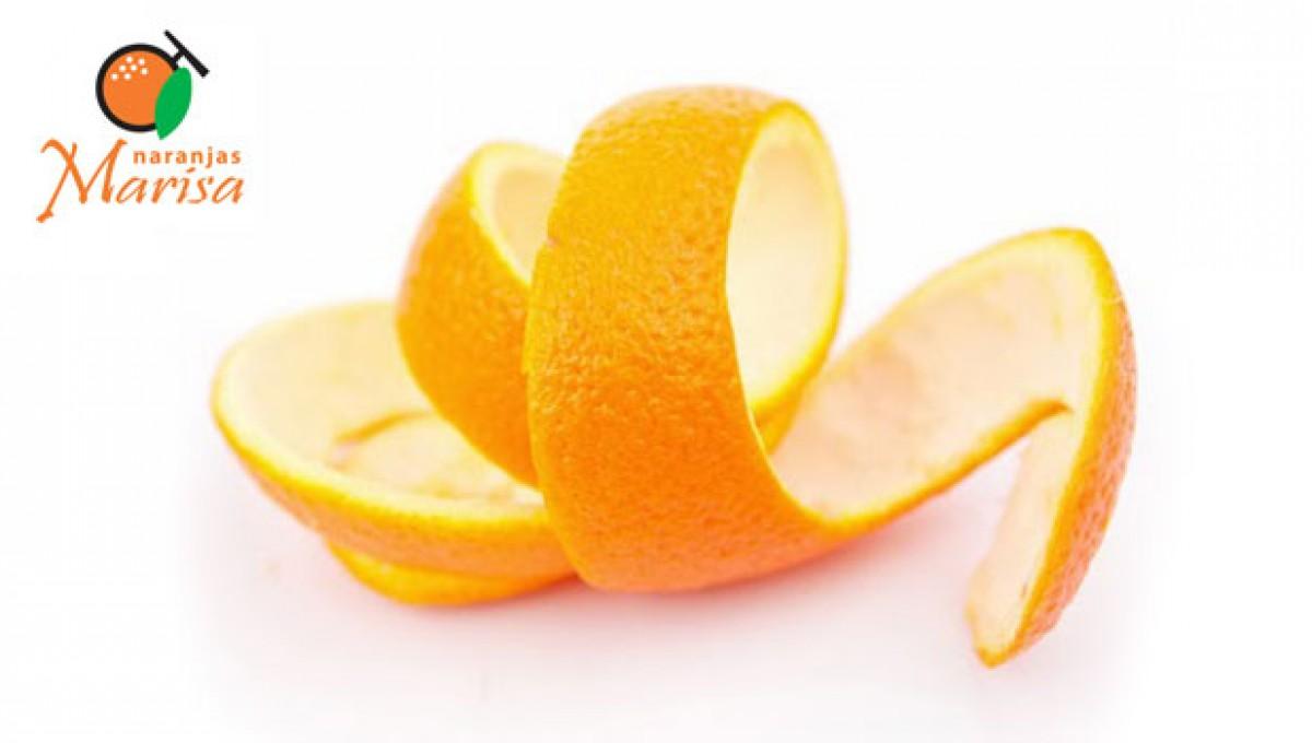 La Cascara de la naranja convertida en flor