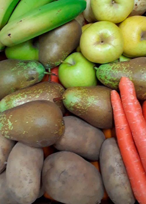 Caja de frutas y verduras 10kg.