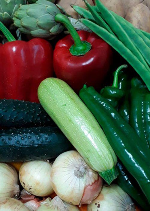 Caja de verduras 10kg.
