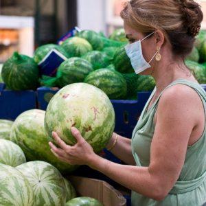 Cómo escoger el melón o la sandía más dulce